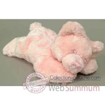 Les Petites Marie-Peluche rétro, ours Louisette couleur rose