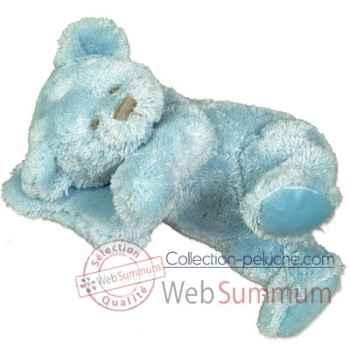 Les Petites Marie-Peluche rétro, ours Mathias couleur bleu
