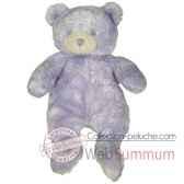 les petites marie peluche retro ours violette