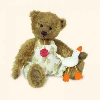 """Peluche Hermann Teddy Original® ours \""""Andi\"""" en mohair édition limitée - 17010 5"""