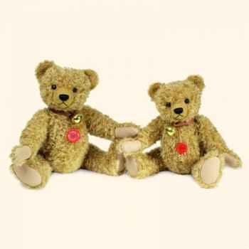 """Peluche Hermann Teddy Original® ours \""""Vintage\"""" en mohair édition limitée - 17340 3"""