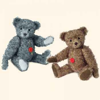 """Peluche Hermann Teddy Original® ours \""""Stefan\"""" en mohair édition limitée - 14662 9"""
