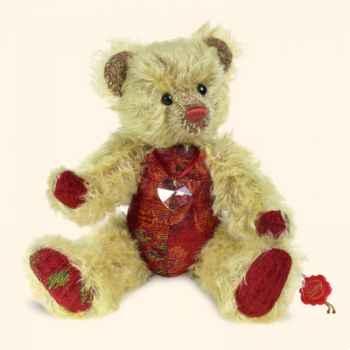 """Peluche Hermann Teddy Original® ours \""""Leila\"""" en mohair édition limitée - 14237 9"""