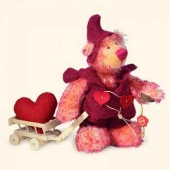 "Peluche Hermann Teddy Original® ours \""Nain Josephine\"" édition limitée - 10744 6"