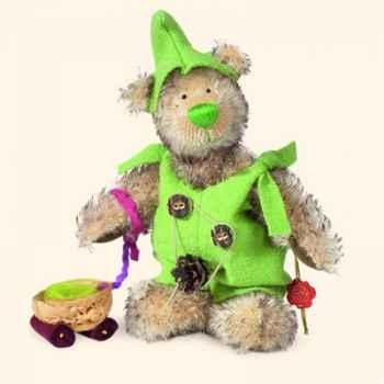 "Peluche Hermann Teddy Original® ours \""Nain Joseph\"" édition limitée - 10745 3"