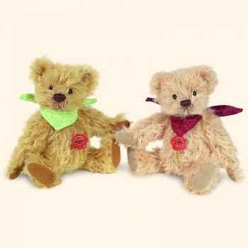 """Peluche Hermann Teddy Original® ours \""""Bella\"""" en mohair édition limitée - 11814 5"""