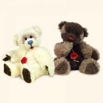 """Peluche Hermann Teddy Original® ours \""""Suceur de pouce nature\"""" en alpacca édition limitée - 15537 9"""
