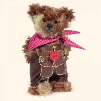 """Peluche Hermann Teddy Original® ours \""""Vincenz\"""" en mohair édition limitée - 17245 1"""