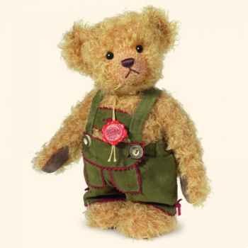 """Peluche Hermann Teddy Original® ours \""""Lenz\"""" en mohair édition limitée - 17244 4"""