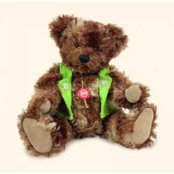 "Peluche Hermann Teddy Original® ours \""Isidor\"" en mohair édition limitée - 14535 6"