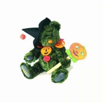 "Peluche Hermann Teddy Original® ours \""Halloween\"" édition limitée - 14825 8"