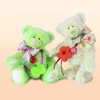 Peluche Hermann Teddy Original® ours Apple Blossom édition limitée - 17921 4
