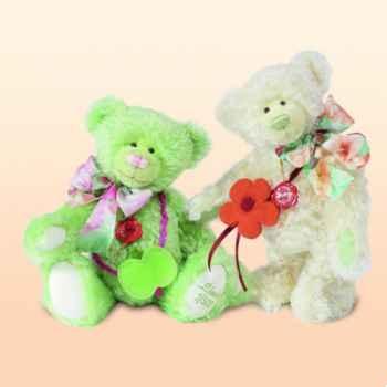 Peluche Hermann Teddy Original® ours Lotus Blossom édition limitée - 17922 1