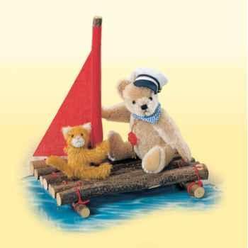 Peluche Hermann Teddy Original® ours Globetrotter édition limitée - 11714 8
