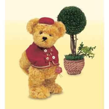 Peluche Hermann Teddy Original® ours Bellboy édition limitée - 14434 2