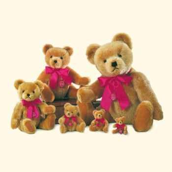 Peluche Hermann Teddy Original® ours nostalgie doré - 16330 5