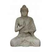 statue de bouddha assis rochers diffusion ba 100