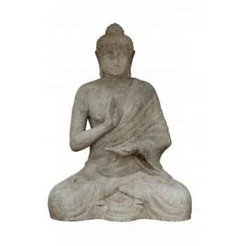 Statue de bouddha assis Rochers Diffusion -BA 100