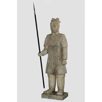 Soldat de l&#039,empereur chinois Rochers Diffusion -SEC 150