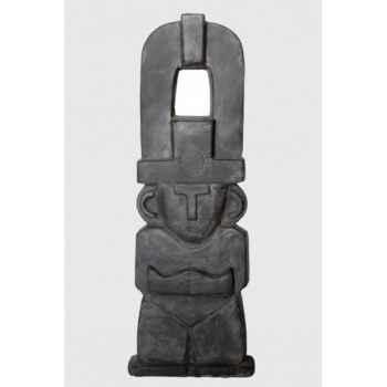 Statue maya 0.80 m aspect lisse Rochers Diffusion -ML 80