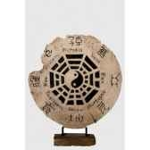 medaillon ying yang sur socle rochers diffusion mry 70