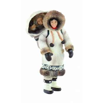 Femme inuit licence inuit Bullyland -B54553