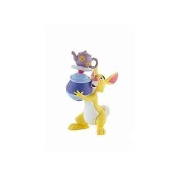 Disney - coco lapin avec des pots  licence winnie l'ourson et ses amis Bullyland -B12322