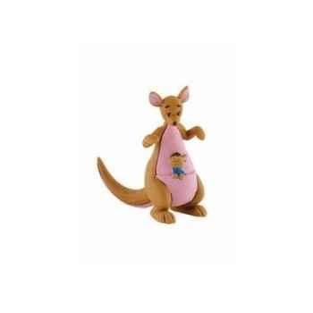 Disney - maman gourou avec bebe licence winnie l\'ourson et ses amis Bullyland -B12323