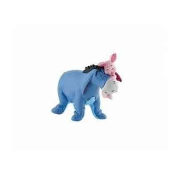Disney - bouriquet avec porcinet  licence winnie l'ourson et ses amis Bullyland -B12324