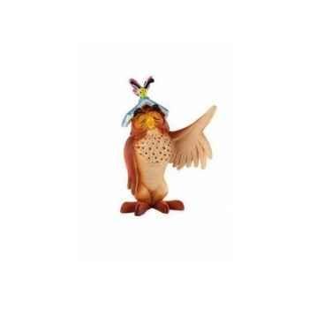 Disney - maitre hibou avec livre  licence winnie l'ourson et ses amis Bullyland -B12325
