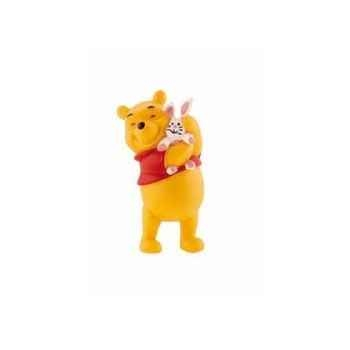 Disney - winnie l\'ourson avec lapin licence winnie l\'ourson et ses amis Bullyland -B12328