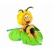 maya sur une feuille licence maya abeille bullyland b43450