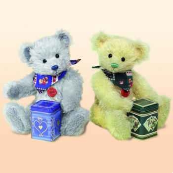 "Peluche Hermann Teddy Original® ours \""Tea - party\"" edition limitée - 14636 0"