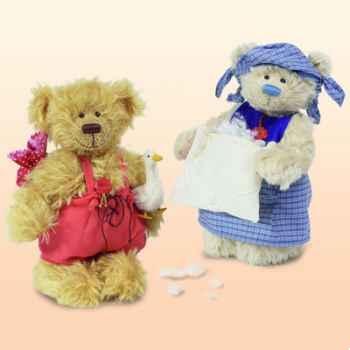"Peluche Hermann Teddy Original® ours \""maman Holle\"" édition limitée - 11827 5"