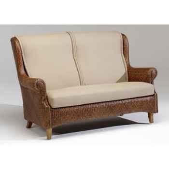 Canapé Victoria Lupuh avec coussin - Kok601-2R