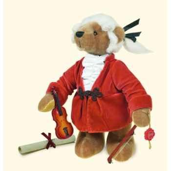 """Peluche Hermann Teddy Original® ours \""""Mozart\"""" édition limitée - 15521 8"""