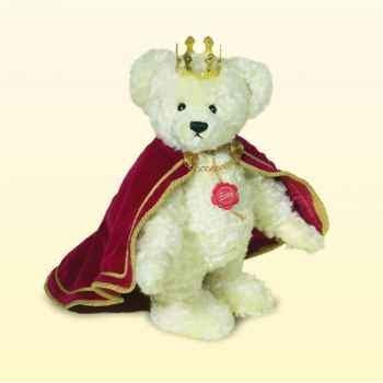 "Peluche Hermann Teddy Original® ours \""queen Elisabeth II\"" edition limitée - 15522 5"