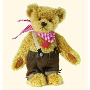 Peluche Hermann Teddy Original® ours Gustl  en mohair édition limitée - 17241 3