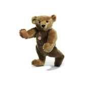 peluche steiff ours teddy 1906 mohair beige st000256