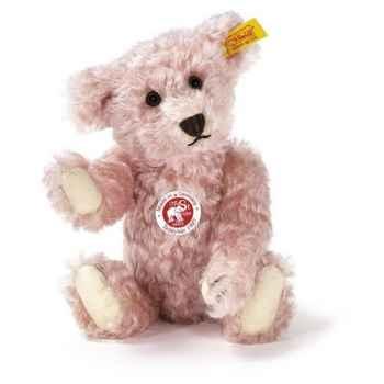 Peluche Steiff Ours Teddy 1907 mohair rosé -st000263