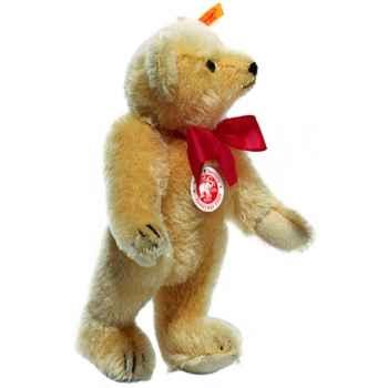 Peluche Steiff Ours Teddy 1909 mohair blond -st000355