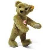 peluche steiff ours teddy 1909 mohair cuivre jaune st000508