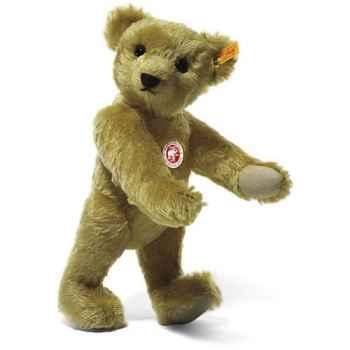 Peluche Steiff Ours Teddy 1909 mohair cuivre jaune -st000508