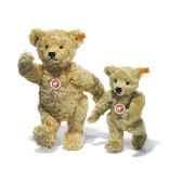 peluche steiff ours teddy 1920 mohair blond clair st000669