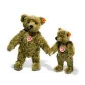peluche steiff ours teddy 1920 mohair brun clair st000713