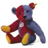 peluche steiff ours teddy arlequin mohair st003530