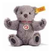 peluche steiff ours teddy gris st027727