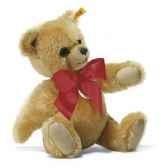peluche steiff ours teddy grognant mohair blond st011566