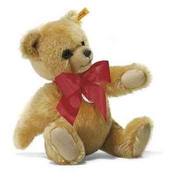 Peluche Steiff Ours Teddy grognant mohair blond -st011566