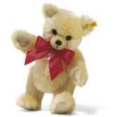 peluche steiff ours teddy grognant mohair creme st011597